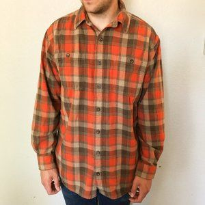 Duluth Trading Company Plaid Flannel Size Large
